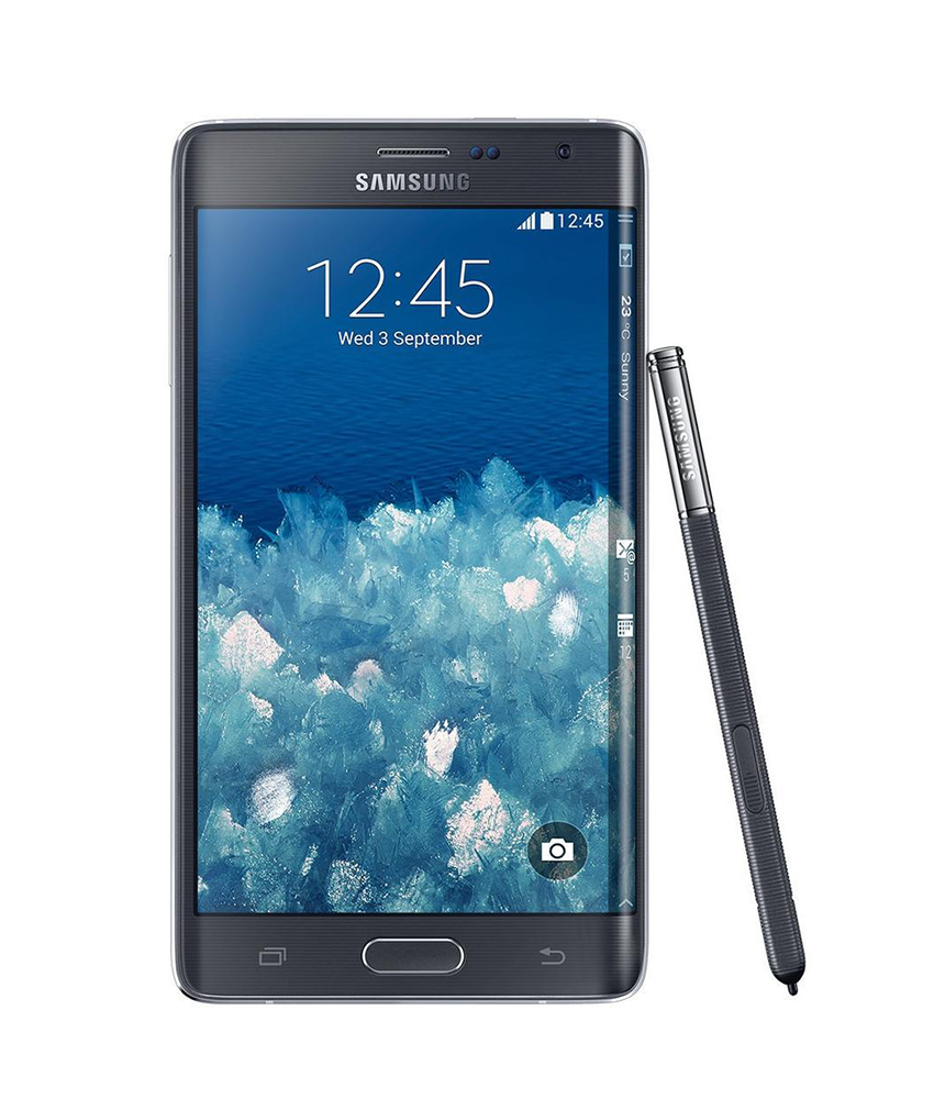 Samsung Galaxy Note 4 Edge Preto - 32GB - 2.7 GHz Quad Core - Tela 5.6 ´ - Câmera 16MP - Desbloqueado - Recertificado