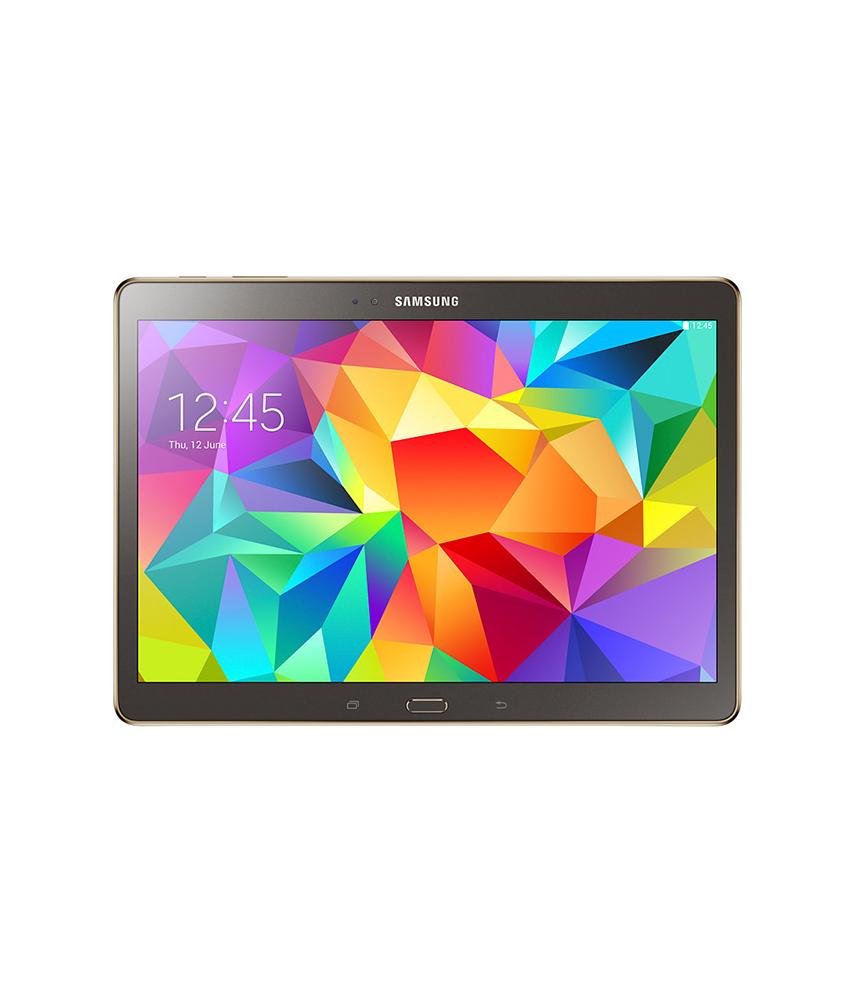 Samsung Galaxy Tab S 10.5 Wi - Fi + 4G Preto - 16GB - Android OS, v4.4.2 ( KitKat ) - 2.3 GHz Quad Core - Tela 10.5 - Câmera 8MP - Desbloqueado - Recertificado