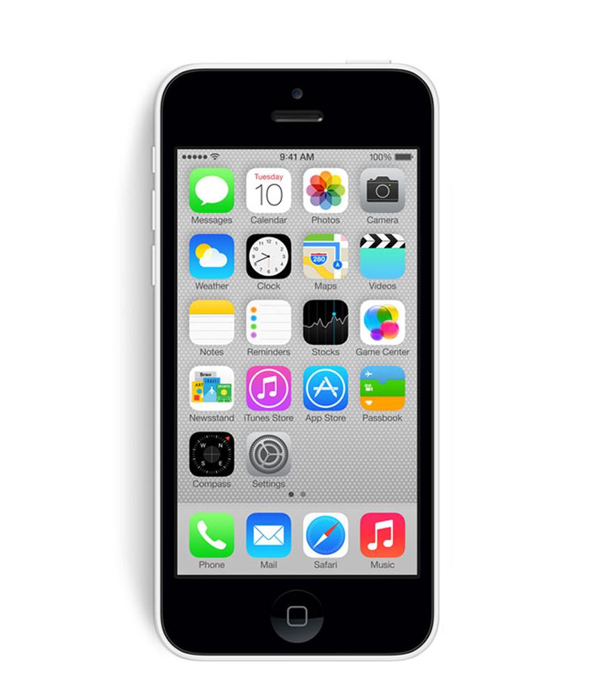 iPhone 5C 8GB Branco - 8GB - IOS - Apple A6 Dual Core 1.3 GHz - Tela 4 ´ - Câmera 8MP - Desbloqueado - Recertificado