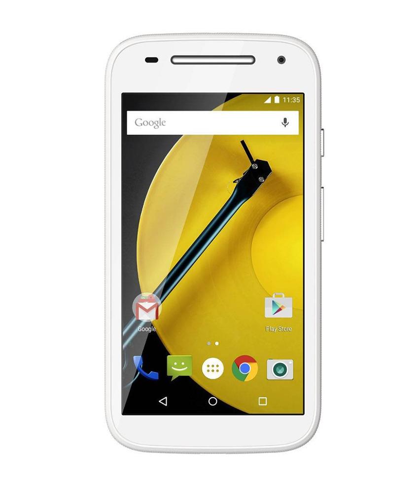 Motorola Moto E ( 2a Geração ) 16GB 4G DTV Branco - 16GB - Android 5.0.2 Lollipop - 1.2 GHz Quad Core - Tela 4.3 ´ - Câmera 5 MP - Desbloqueado - Recertificado