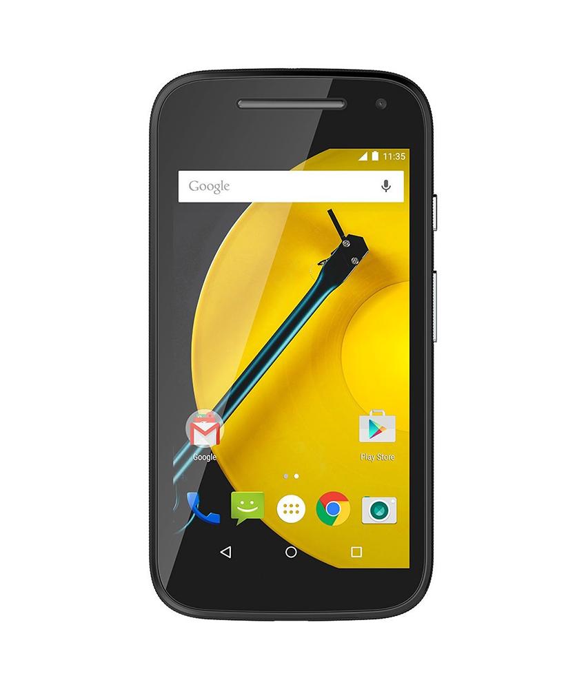 Motorola Moto E ( 2a Geração ) 16GB 4G DTV Preto - 16GB - Android 5.0.2 Lollipop - 1.2 GHz Quad Core - Tela 4.3 ´ - Câmera 5 MP - Desbloqueado - Recertificado