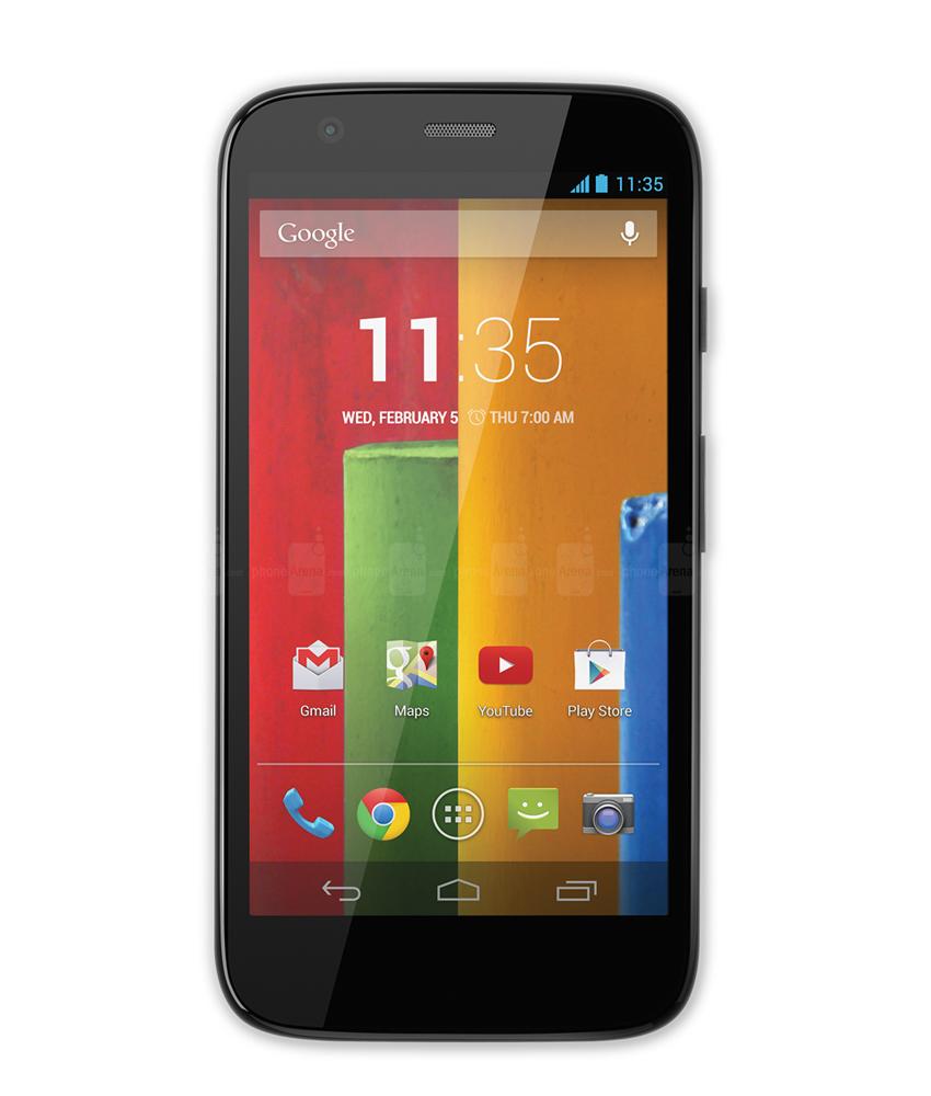 Motorola Moto G ( 1a Geração ) 4G 16GB - 16GB - Android 4.4.3 KitKat - 1.2 GHz Quad Core - Tela 4,5 ´ - Câmera 5MP - Desbloqueado - Recertificado