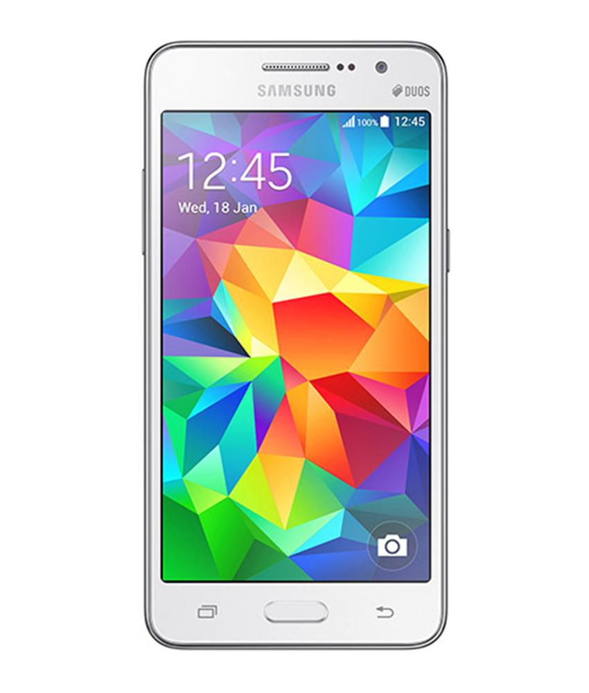 Samsung Gran Prime 3G TV 8GB Branco - 8GB - Android 4.4.2 KitKat - 1.2 GHz Quad Core - Tela 5 ´ - Desbloqueado - Recertificado
