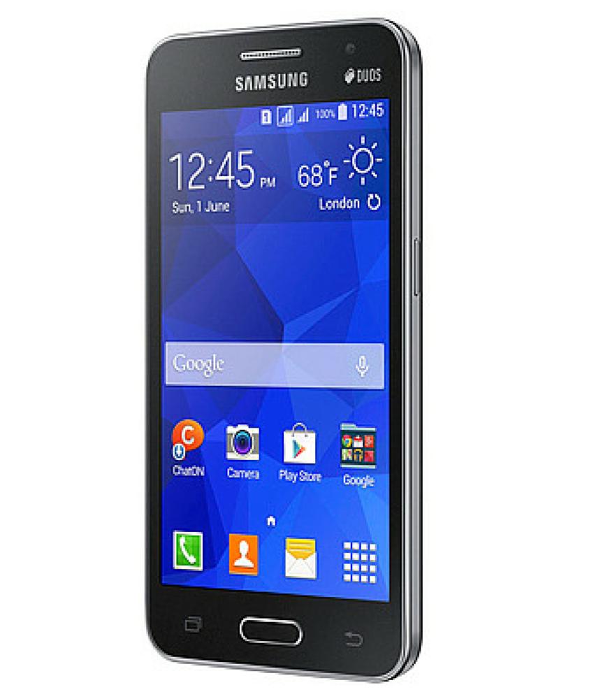 Samsung Galaxy Core 2 Duos Preto - 4GB - 1.2GHz - Tela 4,5 ´ - Desbloqueado - Recertificado