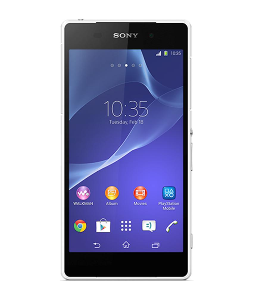 Sony Xperia Z2 Branco - 16GB - Android 4.4.4 KitKat - 2.3 GHz Quad Core - Tela 5.2 ´ - Câmera 21 MP - Desbloqueado - Recertificado