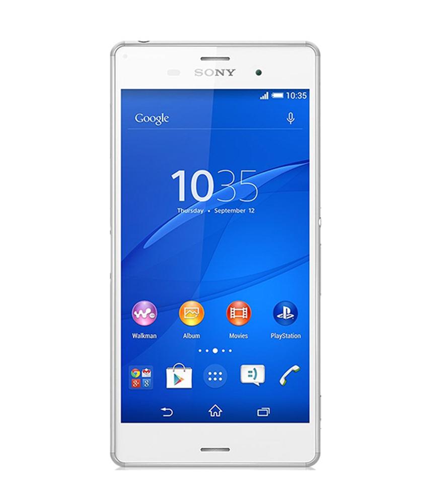Sony Xperia Z3 Branco - 16GB - Android 4.4.4 KitKat - 2.5 GHz Quad Core - Tela 5.2 ´ - Câmera 20.7 MP - Desbloqueado - Recertificado