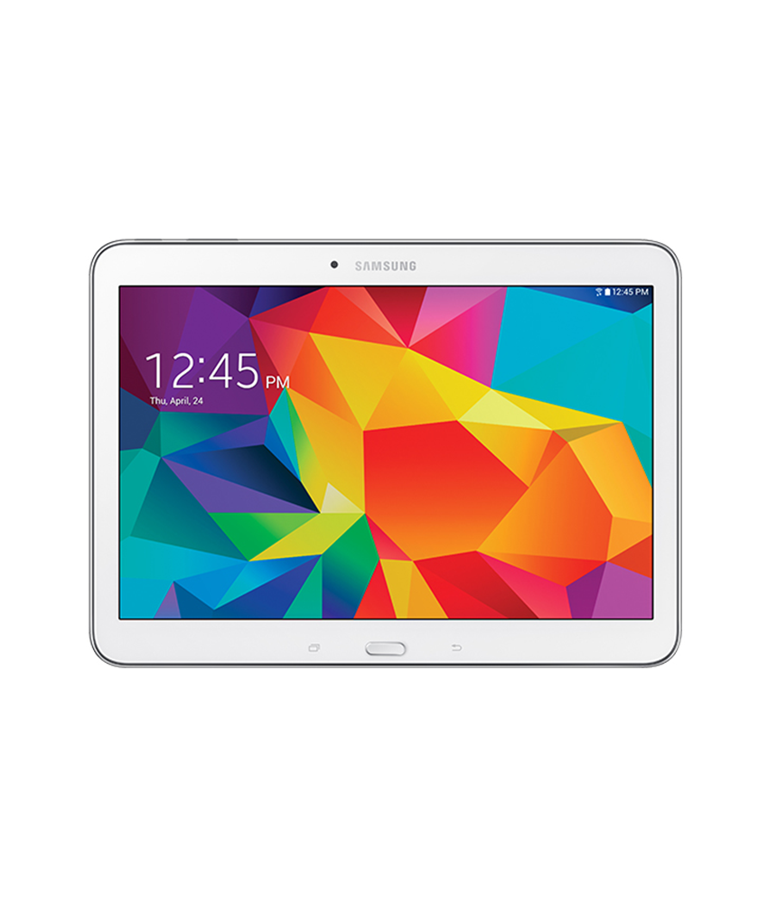 Samsung Galaxy Tab 4 10.1 Wi - Fi + 3G Branco - 16GB - Android OS, v4.4.2 ( KitKat ) - 1.2 GHz Quad Core - Tela 10.1 - Câmera 3MP - Desbloqueado - Recertificado