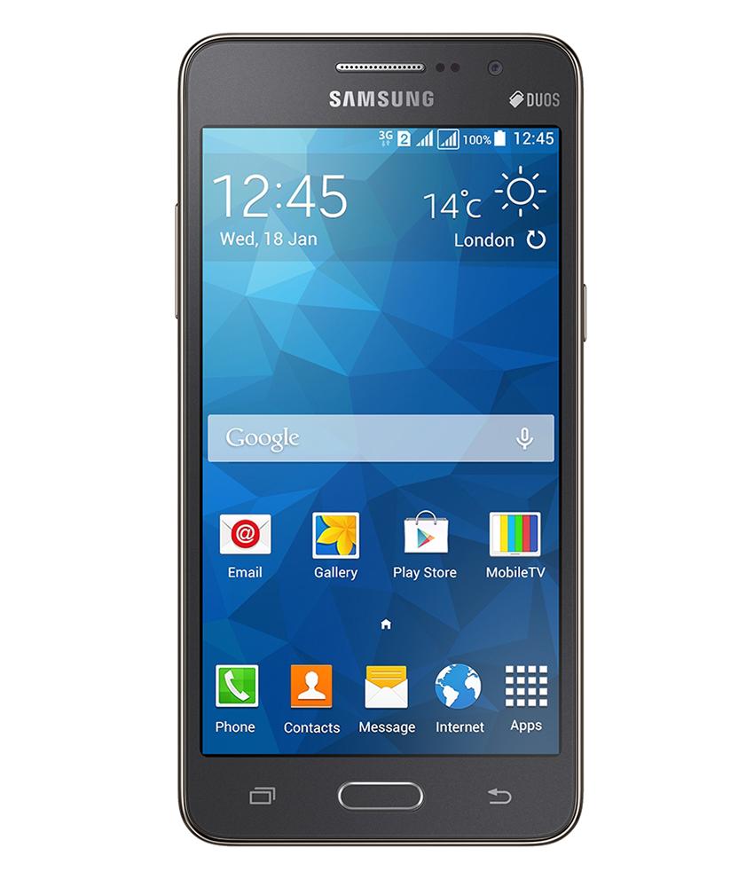 Samsung Gran Prime 3G TV 8GB Cinza - 8GB - Android 4.4.2 KitKat - 1.2 GHz Quad Core - Tela 5 ´ - Desbloqueado - Recertificado