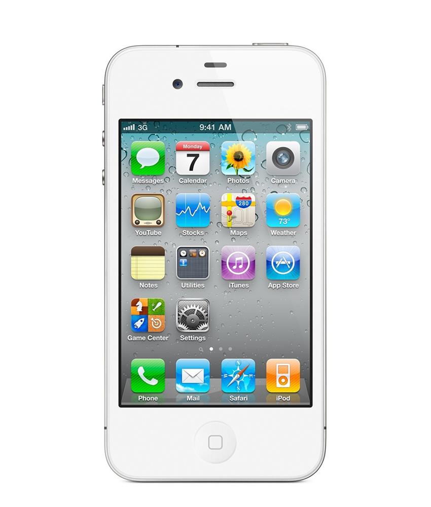 iPhone 4G 16GB Branco - 16GB - IOS - Apple A4 Single Core 800 MHz - Tela 3.5 ´ - Câmera 5MP - Desbloqueado - Recertificado
