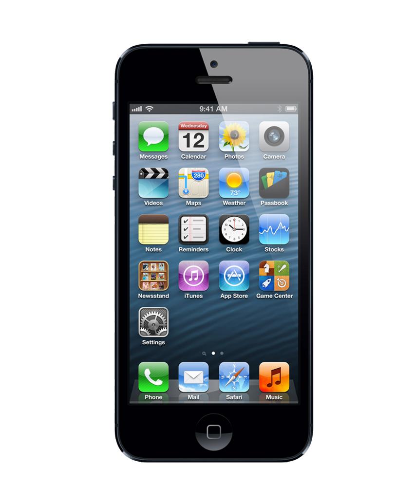 iPhone 5 16GB Preto - 16GB - IOS - Apple A6 Dual Core 1.3 GHz - Tela 4 ´ - Câmera 8MP - Desbloqueado - Recertificado