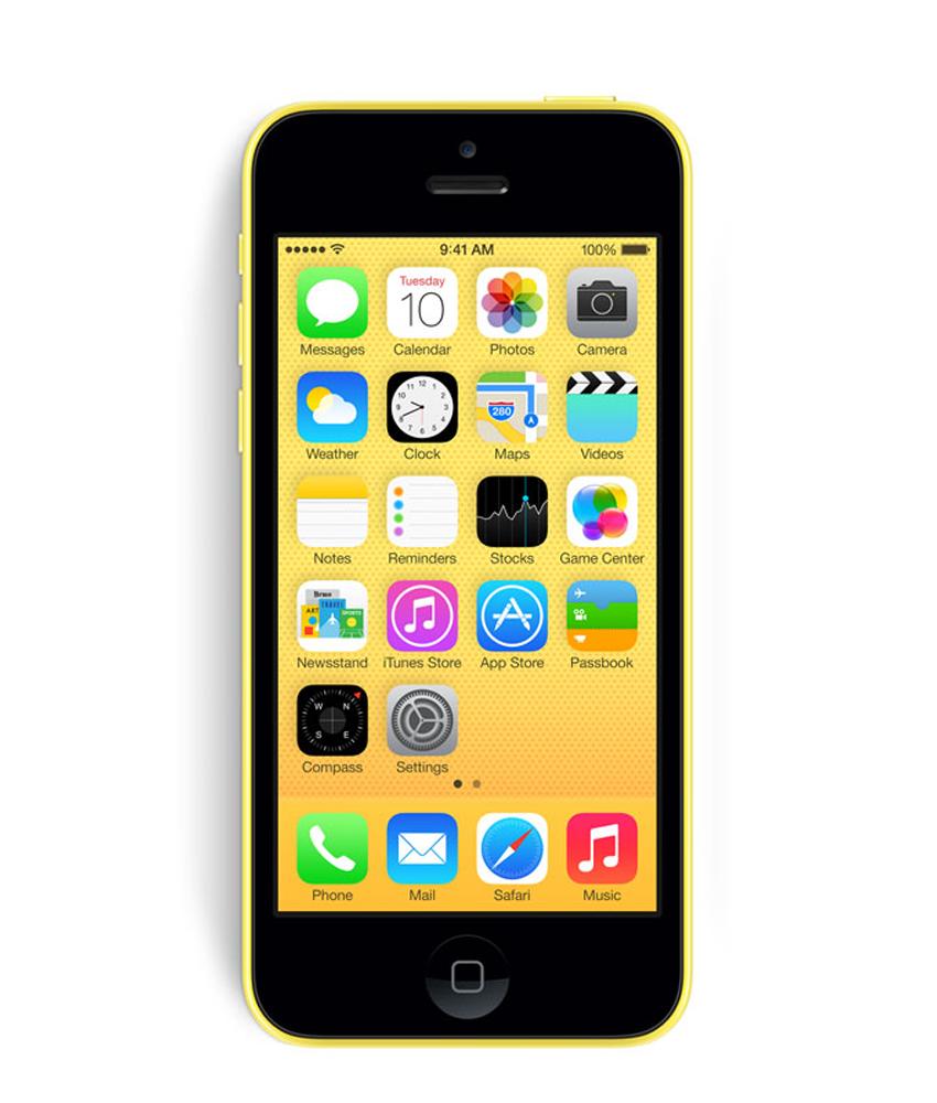 iPhone 5C 16GB Amarelo Seminovo Muito Bom