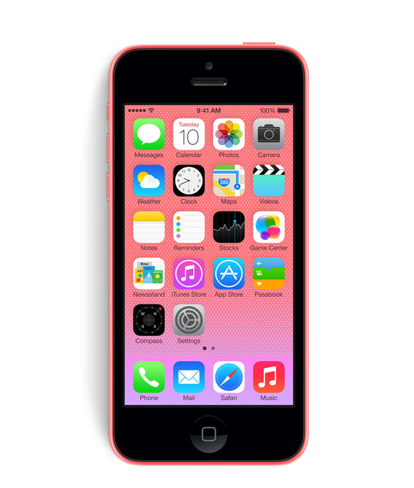 iPhone 5C 16GB Rosa - 16GB - IOS - Apple A6 Dual Core 1.3 GHz - Tela 4 ´ - Câmera 8MP - Desbloqueado - Recertificado