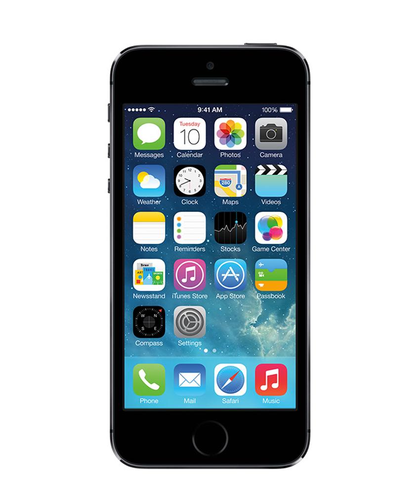 iPhone 5S 32GB Cinza Espacial - 32GB - IOS - Apple A7 Dual Core 1.3 GHz - Tela 4 ´ - Câmera 8MP - Desbloqueado - Recertificado