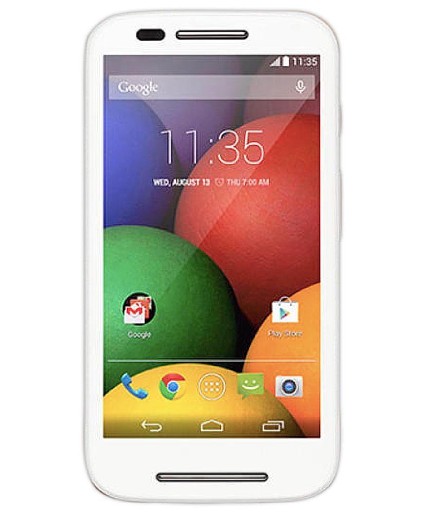 Motorola Moto E ( 1a Geração ) XT - 1025 8GB Dual Branco Rosa - 8GB - Desbloqueado - Recertificado