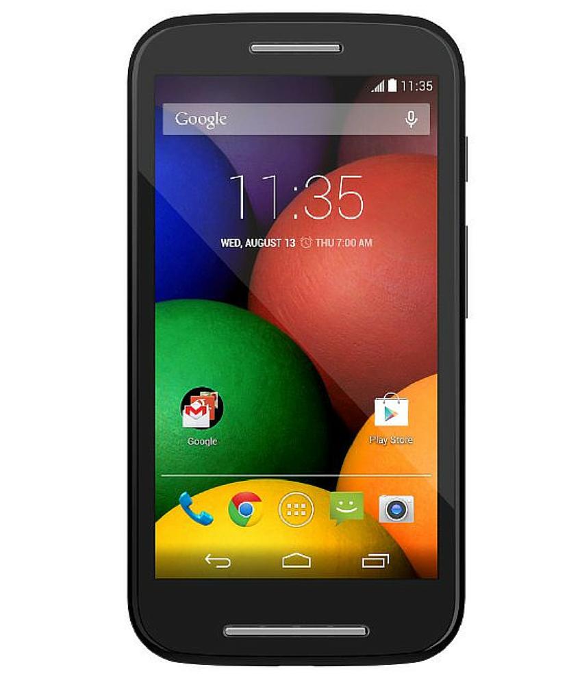 Motorola Moto E ( 1a Geração ) XT - 1025 8GB Dual Preto - 8GB - Desbloqueado - Recertificado