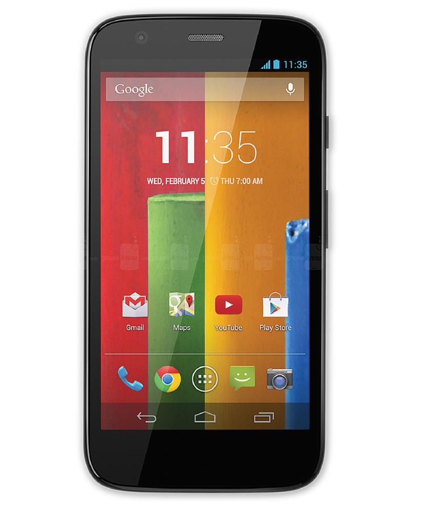 Motorola Moto G ( 1a Geração ) 4G 8GB - 8GB - Android 4.4.3 KitKat - 1.2 GHz Quad Core - Tela 4,5 ´ - Câmera 5MP - Desbloqueado - Recertificado