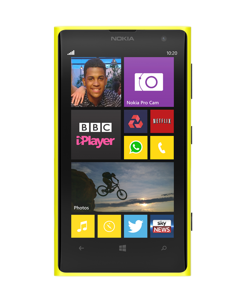 Nokia Lumia 1020 Amarelo - 32GB - Microsoft Windows Phone 8 - Dual - core 1.5 GHz Krait - Tela 4.5 ´ - Câmera 41MP - Desbloqueado - Recertificado