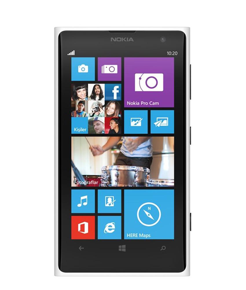 Nokia Lumia 1020 Branco - 32GB - Microsoft Windows Phone 8 - Dual - core 1.5 GHz Krait - Tela 4.5 ´ - Câmera 41MP - Desbloqueado - Recertificado