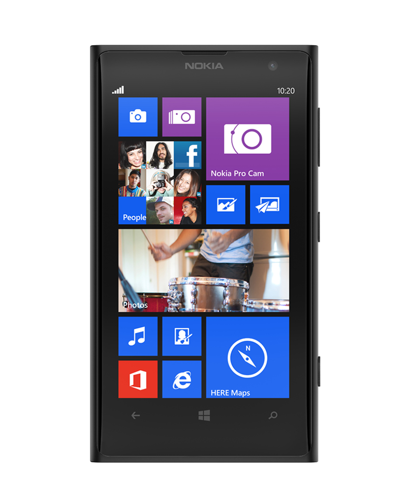 Nokia Lumia 1020 Preto - 32GB - Microsoft Windows Phone 8 - Dual - core 1.5 GHz Krait - Tela 4.5 ´ - Câmera 41MP - Desbloqueado - Recertificado