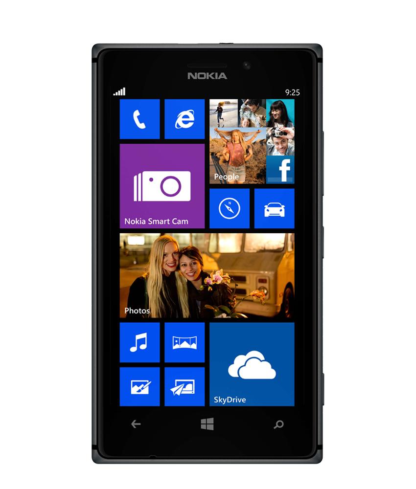Nokia Lumia 925 Preto - 16GB - Windows Phone 8 Lumia Black - 1.5 GHz Dual Core - Tela 4.5 ´ - Câmera 8MP - Desbloqueado - Recertificado