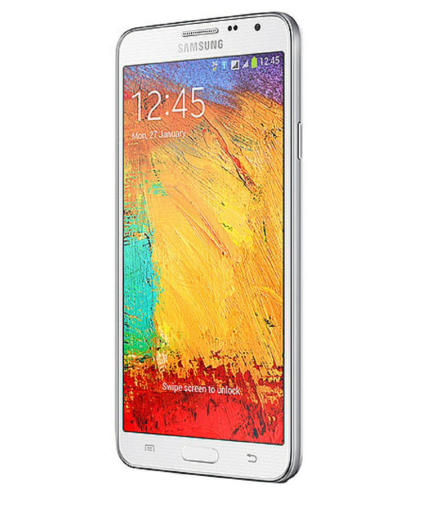 Samsung Galaxy Note 3 Neo Duos Branco - 16GB - Android 4.3 TouchWiz UI Jelly Bean - 1.6 GHz Quad Core - Tela 5.5 ´ - Câmera 8MP - Desbloqueado - Recertificado