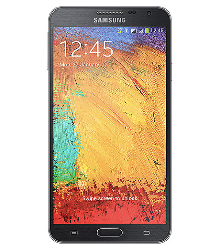 Samsung Galaxy Note 3 Neo Duos Preto - 16GB - Android 4.3 TouchWiz UI Jelly Bean - 1.6 GHz Quad Core - Tela 5.5 ´ - Câmera 8MP - Desbloqueado - Recertificado