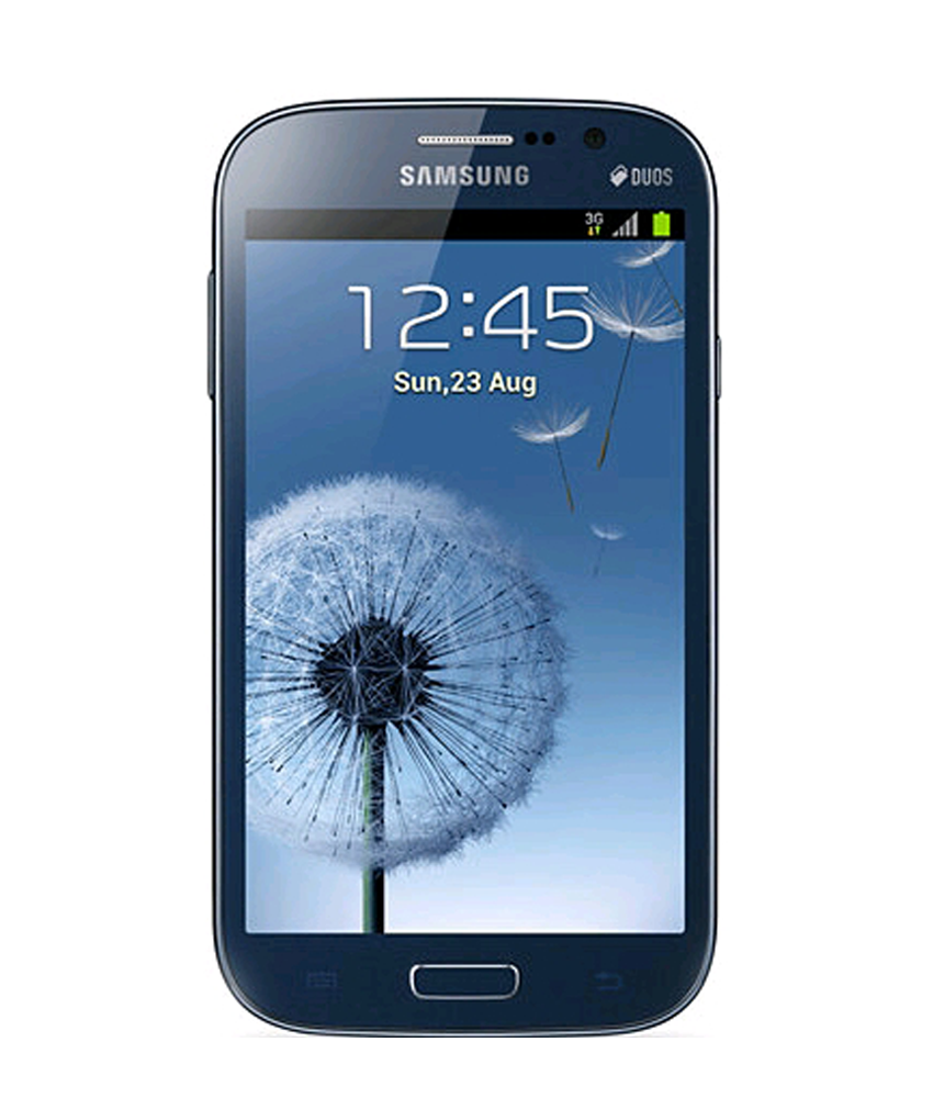 Samsung Galaxy Grand Duos i9082 Azul - 8GB - Android 4.1 Jelly Bean - 1.2 GHz Dual Core - Tela 5.0 ´ - Câmera 8MP - Desbloqueado - Recertificado