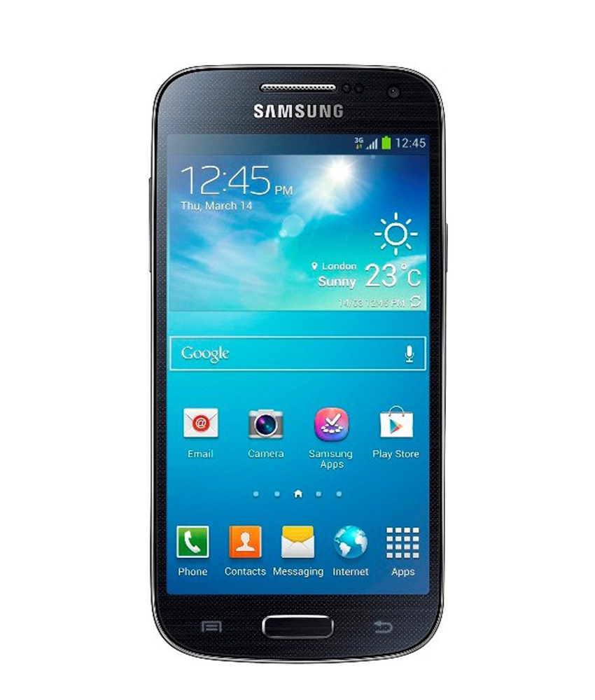 Samsung Galaxy S4 Mini Duos Preto - 8GB - Android 4.2.2 Jelly Bean - 1.7 GHz Dual Core - Tela 4.3 ´ - Câmera 8MP - Desbloqueado - Recertificado