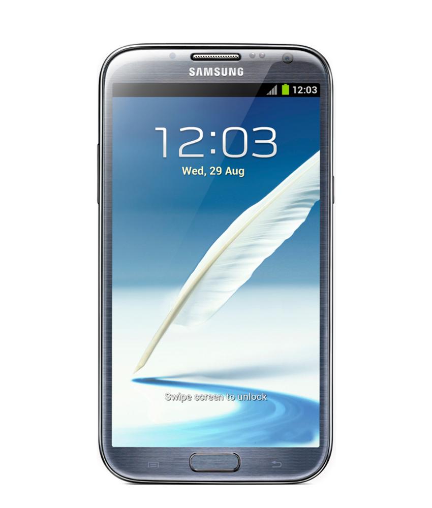 Samsung Galaxy Note II N7100 Cinza Seminovo Bom