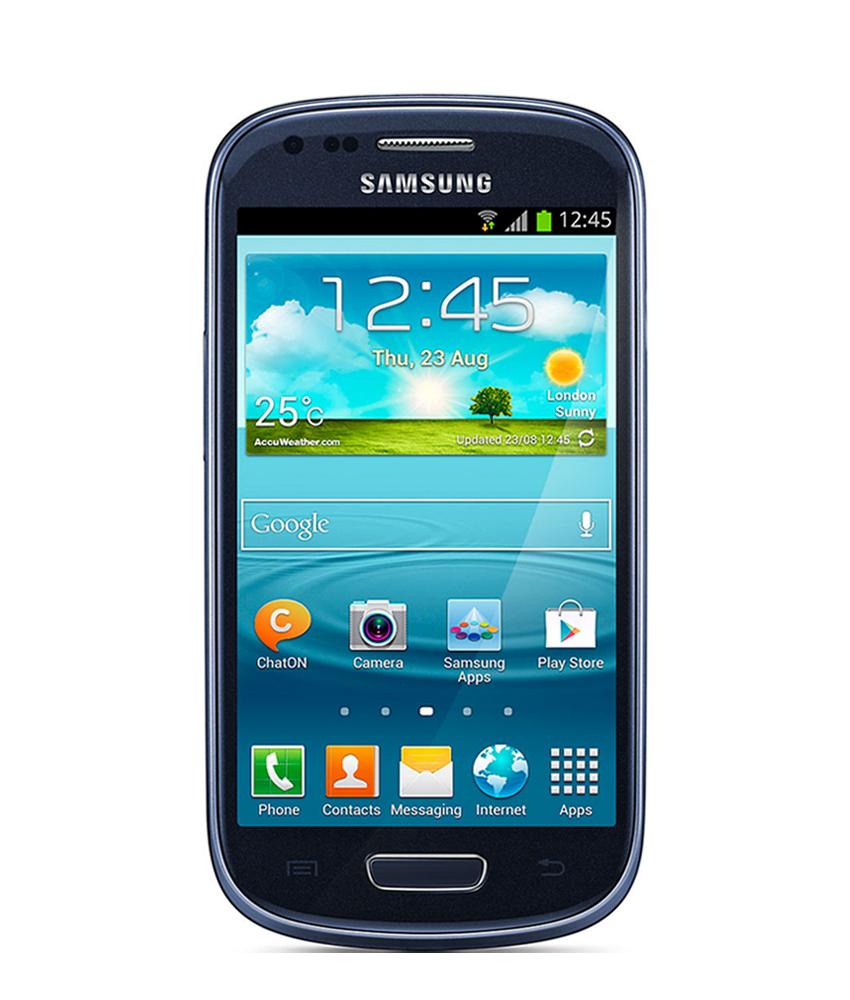 Samsung Galaxy S3 Mini Azul - 8GB - Android OS, v4.1 - Tela 4. ´ - Câmera 5MP - Desbloqueado - Recertificado