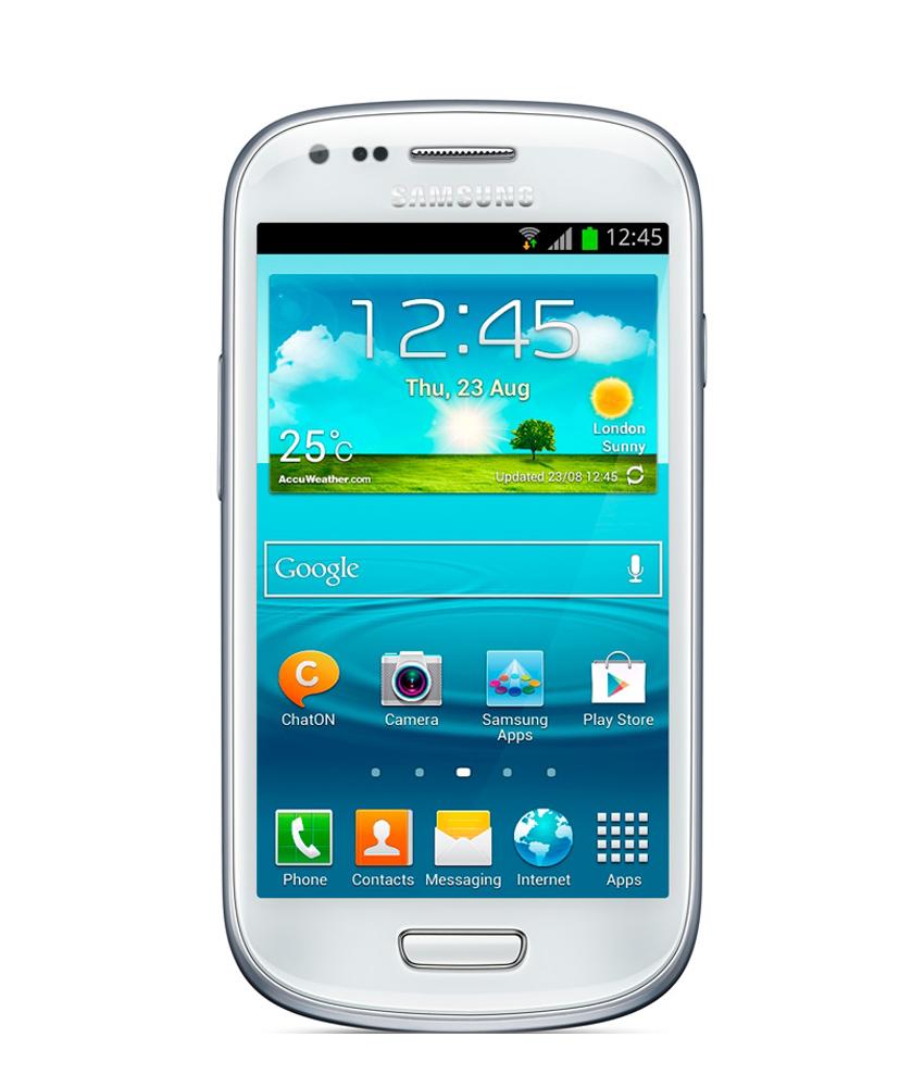 Samsung Galaxy S3 Mini Branco - 8GB - Android OS, v4.1 - Tela 4. ´ - Câmera 5MP - Desbloqueado - Recertificado