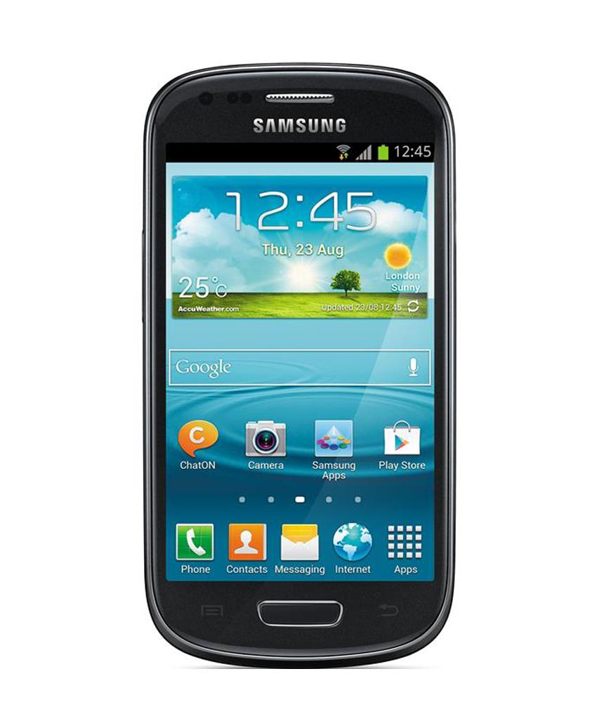 Samsung Galaxy S3 Mini Preto - 8GB - Android OS, v4.1 - Tela 4. ´ - Câmera 5MP - Desbloqueado - Recertificado