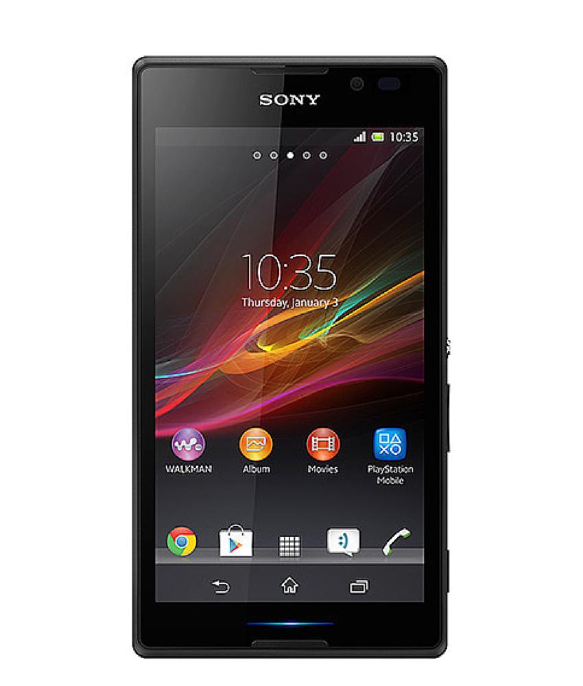 Sony Xperia C Preto - 4GB - Android OS, v4.2.2 ( Jelly Bean ) - Quad - core 1.2 GHz Cortex - A7 - Tela 5 ´ - Câmera 8MP - Desbloqueado - Recertificado