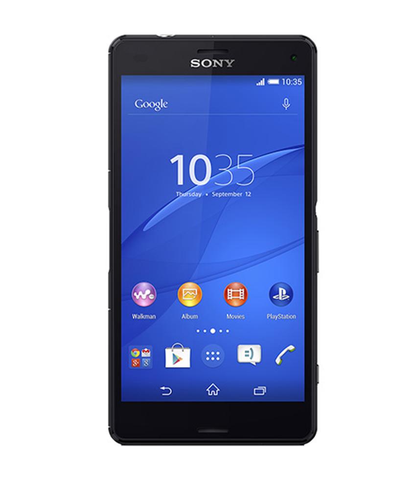 Sony Xperia Z3 Compact Preto - 16GB - Android 5.1.1 Lollipop - 2.5 GHz Quad Core - Tela 4,6 ´ - Câmera 20,7MP - Desbloqueado - Recertificado